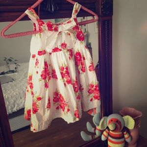 Janie and Jack floral sundress, size 12-18 mo